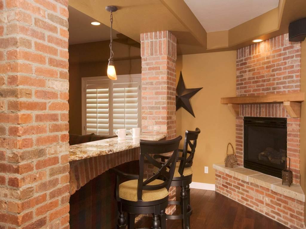 Interior Brick Veneer Walls Attractive Personalised Home